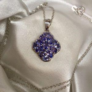Jewelry - 💜Genuine Tanzanite Pendant💜